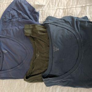 3 maternity shirts